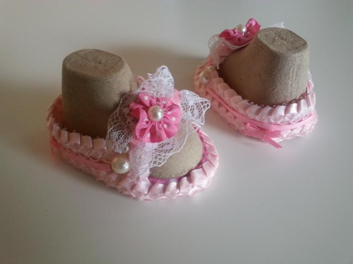 Handmade Ribbon Sandals