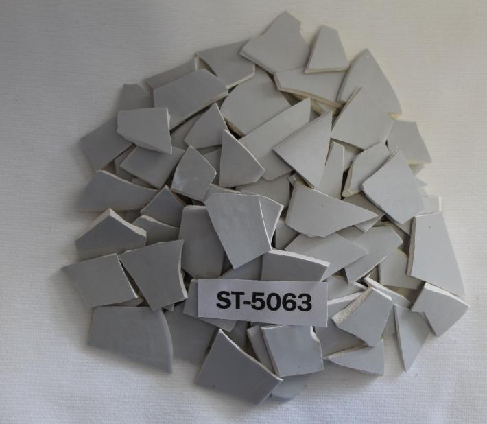 100 pieces Grey Mosaic Ceramic Tiles ST5063 Mosaic Supplies Tesserae