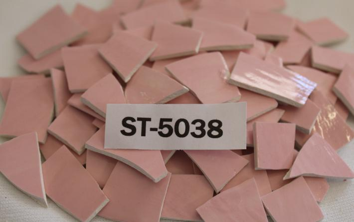 100 pieces Pink Mosaic Tiles ST5038 Mosaic Supplies Tesserae