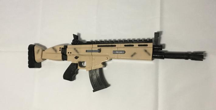 FORTNITE Legendary SCAR Replica