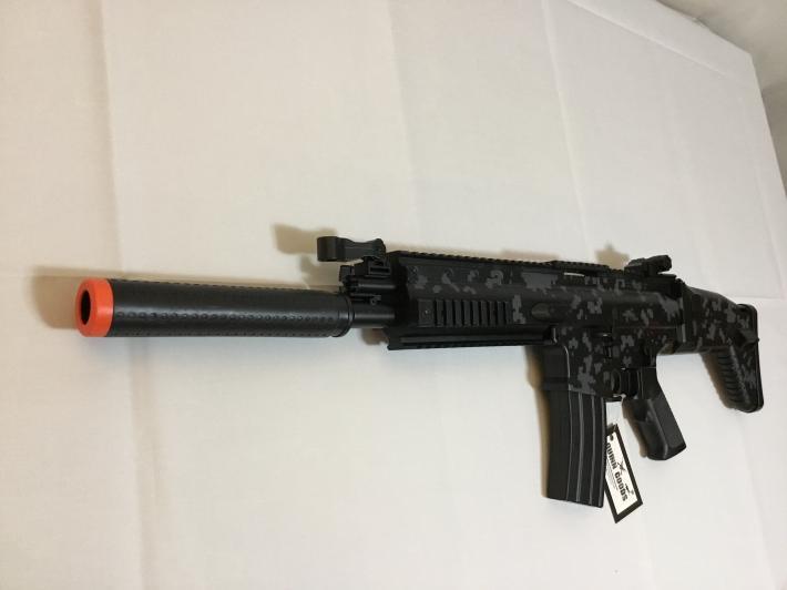 FORTNITE Suppressed AR SCAR AEG airsoft replica
