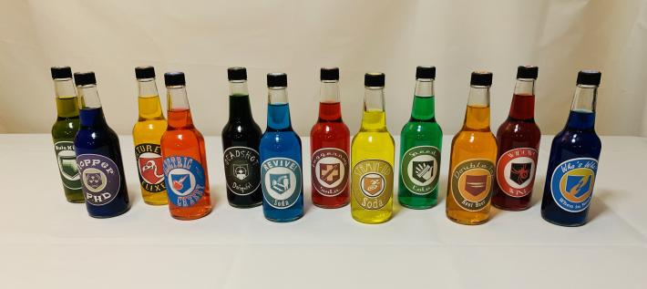 Call of Duty Black Ops Perk A Cola Perk Soda set