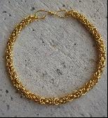 Golden Thread Micro Maille Bracelet