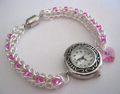 Precious Time Chainmaille Watch