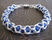 Companion Blues Bracelet Chainmaille Bangle