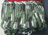 Camouflage Acrylic Hand Knit Scarf