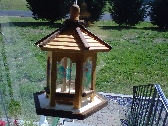 Wood N Glass Feeder Gazebo