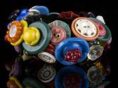 Garden Party Vintage Button Bracelet