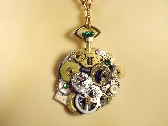 Victorian Time Steampunk Necklace