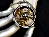 Watch Time Steampunk Necklace
