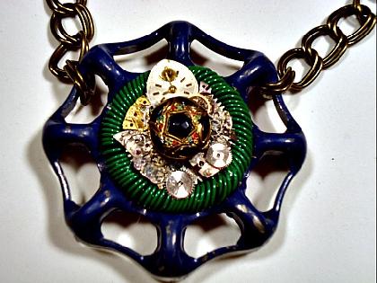 Steampunk Blue SOLD