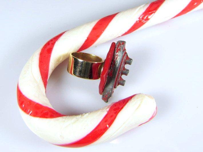 Red Ship Ring