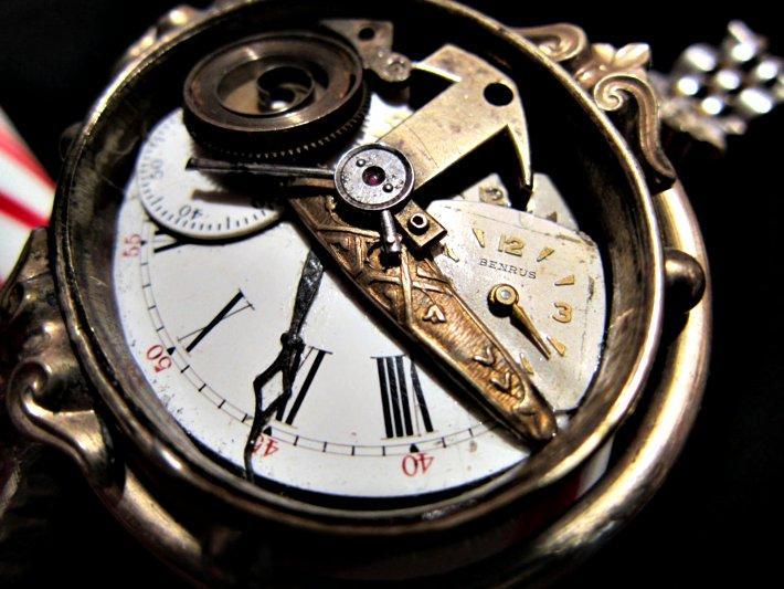 Half Time Victorian Steampunk Bracelet