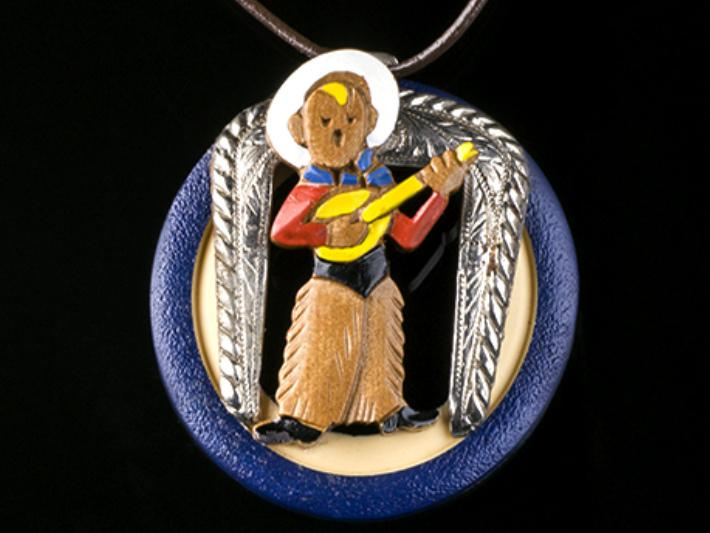 Home on the Range Cowboy Assemblage Necklace