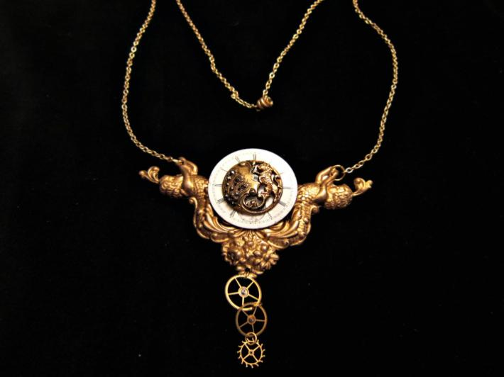 Time of Grace Steampunk Necklace