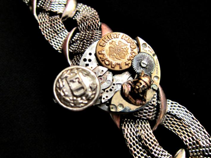 Working Steampunk Bracelet