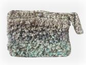 Crocheted Handbag Wristlet