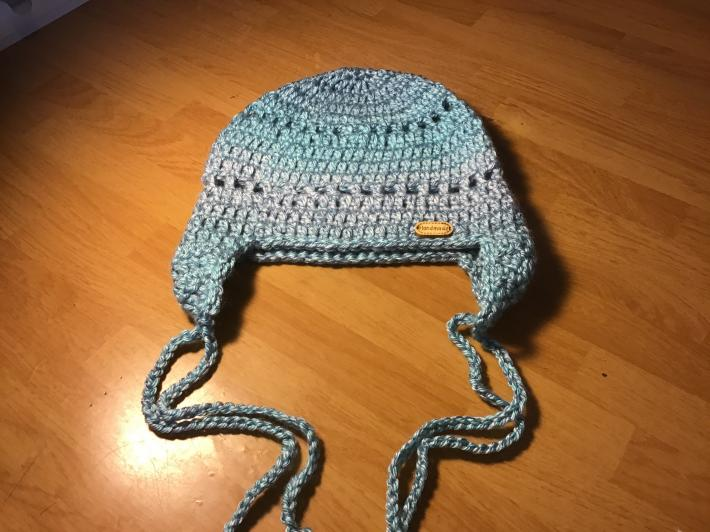 Girls beanie with ear covers