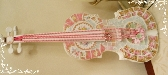 Mosaic Violin Wall Art HM Shabby Chic Wall Hanging Music Gift