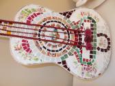 Guitar Handmade Mosaic Guitar Broken Songs and Melodies