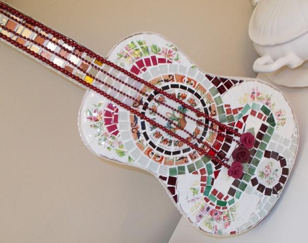 Guitar Handmade Mosaic Guitar Broken Songs and Melodies