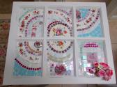 Handmade Mosaic Wall Art Wall Hanging made form cut china plates and stained glass