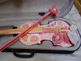 Shabbyed up Full size Violin Wall Decor
