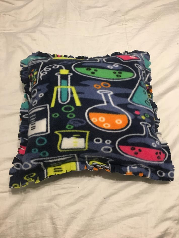Large Chemistry Pillow