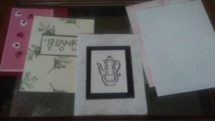Set of 3 cards for different occasions
