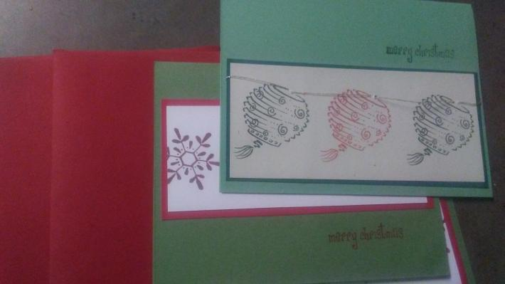 Set of 3 Holiday cards