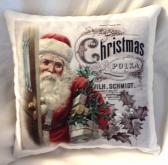 Decorative Christmas Pillow Santa Claus 2