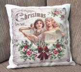 Decorative Christmas Pillow Angels