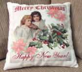 Decorative Christmas Pillow Angels 2