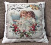 Decorative Christmas Pillow Angels 3