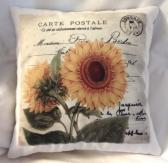 Decorative Pillow Autumn Sunflower 2