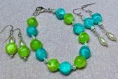 Blue Green set