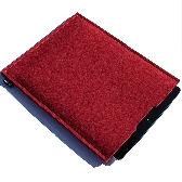 Red Wool Felt iPad Sleeve FREE POSTAGE