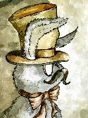 Steampunk Rabbit Fine Art Print
