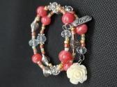 Pink Boho Bracelet