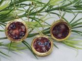 Gold Resin Jewelry Set