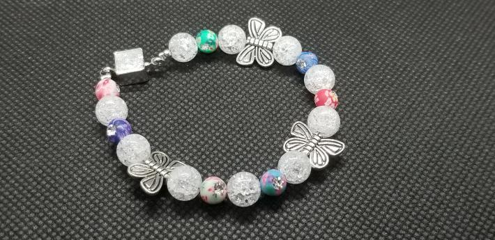Girls Butterfly Bracelet