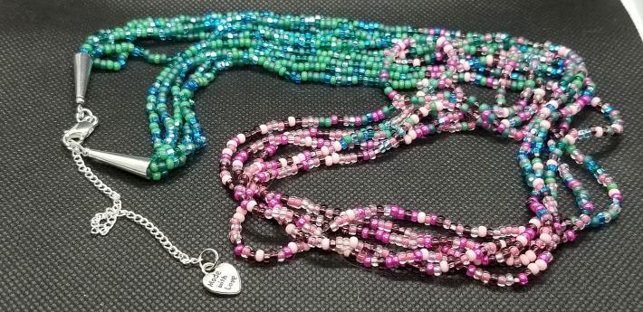 Multi Strand Boho Necklace
