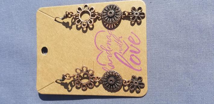 Filigree Floral Earrings