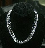 Half square Necklace