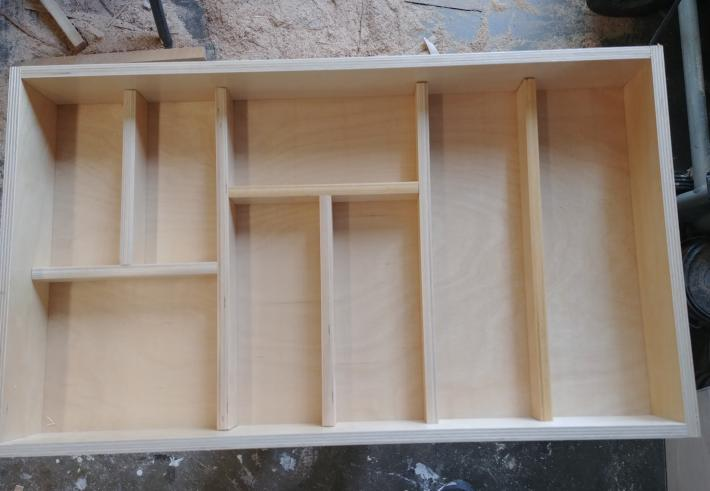 Tabletop craft storage unit