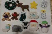 Hand made little Christmas ornaments