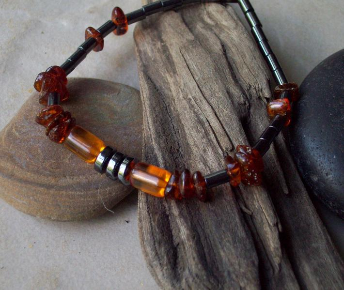 Healing Amber Bracelet