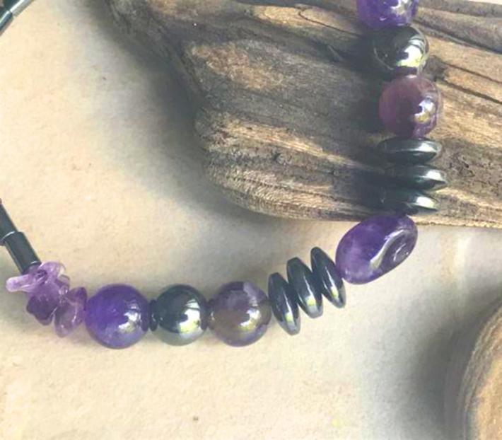 Healing Amethyst Bracelet