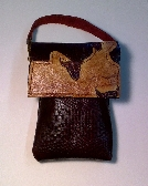 Handmade mini purse