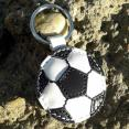 Handmade Leather Keychain Soccer Ball Football FREE shipping